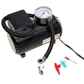 BVC 60625 - Compresor de Aire 300PSI (12 V, 18 Bar, 10 AMP) con medidor de presión: Amazon.es: Coche y moto