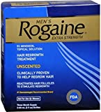 Rogaine Men's Extra Strength Unscented 6 oz (Pack of 5)