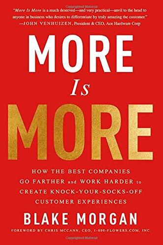 More Is More: How the Best Companies Go Farther and Work Harder to Create Knock-Your-Socks-Off Customer Experiences (Best Customer Service Companies)