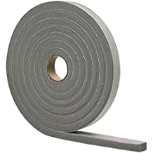 M-D Building Products 2311 High Density Foam Tape, 1/2-by-3/4-Inch by 10 feet, Gray