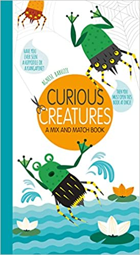 amazon curious creatures a mix and match book giada francia