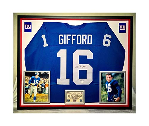 newest collection 6ede9 568ed Frank Gifford Giants Shirt, Giants Frank Gifford Shirt ...