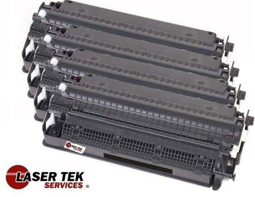 Laser Tek Services ® 4 Pack Compatible Toner Cartridges for Canon FX4 (FX-4) 1558A002AA Canon FAX L800, FAX L900, LaserClass L1000, L900, 8500, 9000, 9000L, 9000MFP, 9000MS, 9000S, 9500, 9500MFP, 9500MS, 9500S, 9800