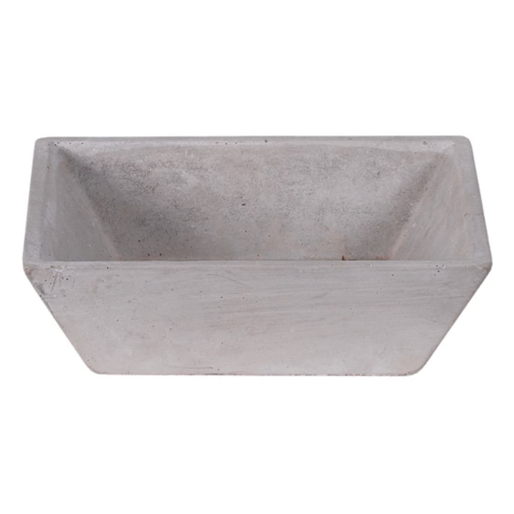 Hill's Park's 6.5'' x 6.5'' Cement Decorative Bowl/Tray