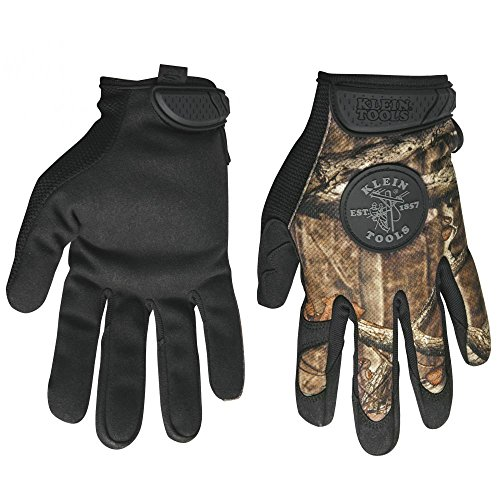 Buy klein tools camouflage gloves large