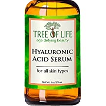 ToLB Hyaluronic Acid Serum for Skin - 100% Pure Hyaluronic Acid with Vitamin C + Natural Ingredients for Enhanced Moisturization - Paraben Free, Vegan - Best Hyaluronic Acid for Facial Care 1 fl oz