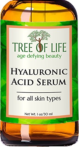 ToLB Hyaluronic Acid Serum for Skin - 100% Pure with Vitamin C + Natural Ingredients for Enhanced face Moisturization - Paraben Free