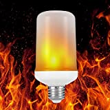 Flame009 LED E26 Flame Light Fire Atmosphere Decorative Lamp