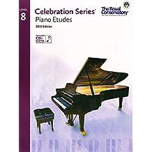Celebration Series Piano Etudes 2015 Edition - Level 8