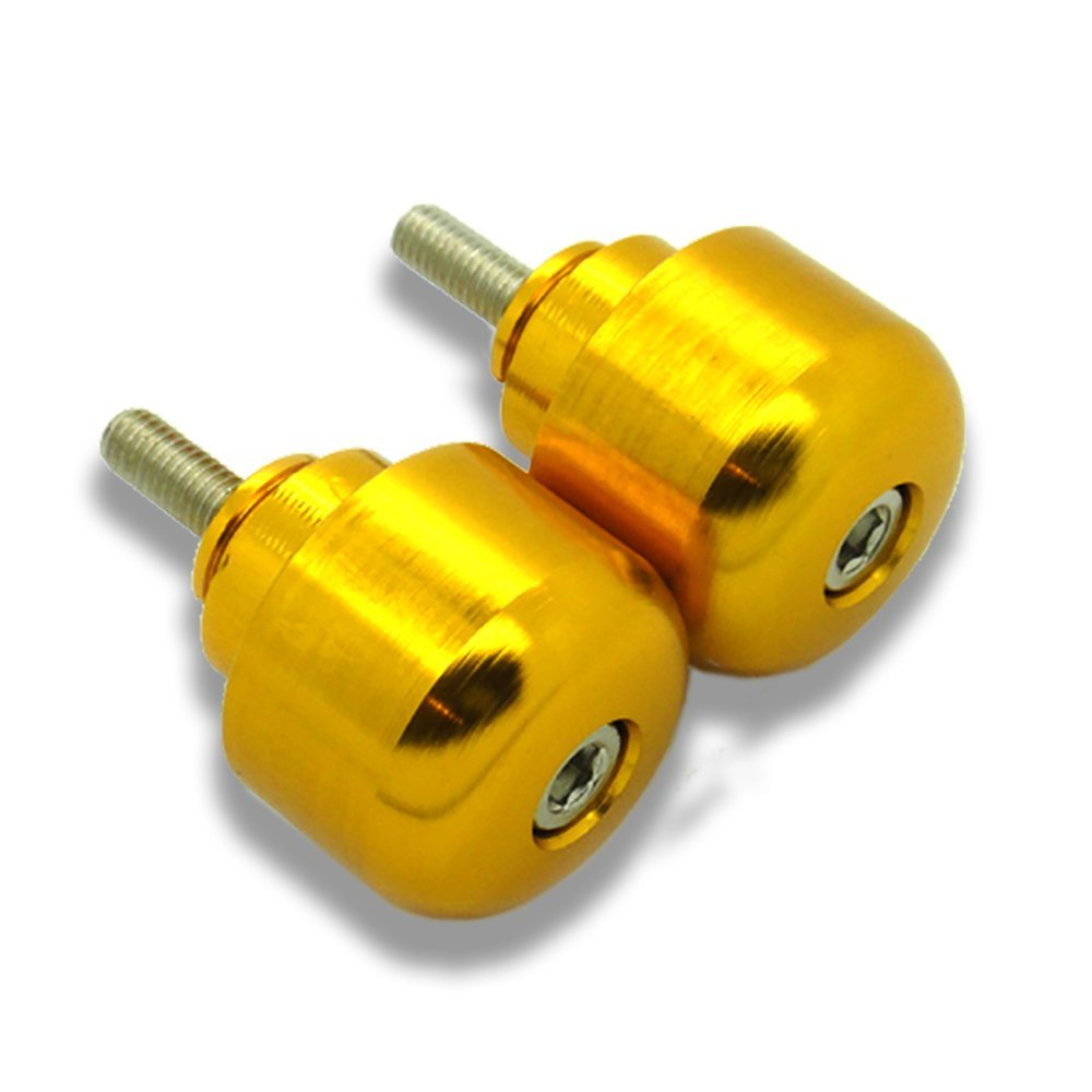 STORM Gold CNC Bar End Weights For Kawasaki Z1000 ABS 2014-2017