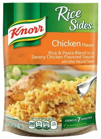 Knorr Rice Sides Chicken 5.6 oz (Pack of (Side Dishes Chicken)