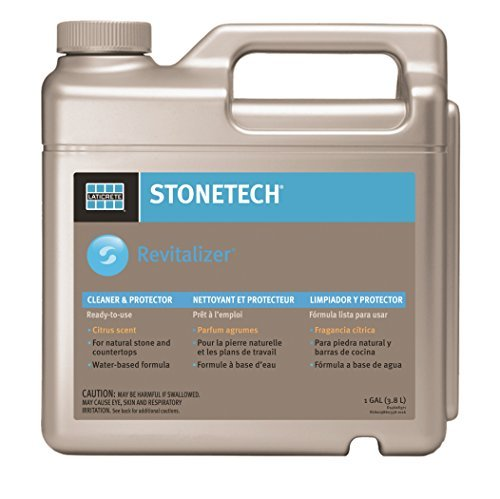 StoneTech RTU Revitalizer, Cleaner & Protector for Tile & Stone, 1-Gallon (3.785L), Citrus Scent by StoneTech DuPont