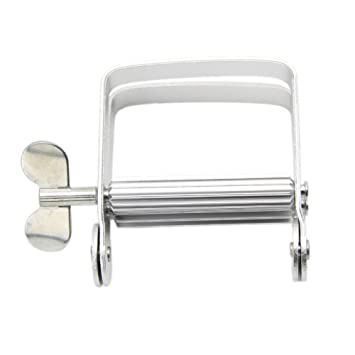 Dispensador de pasta de dientes de aluminio, exprimidor de tubos para baño, hogar y bricolaje: Amazon.es: Hogar