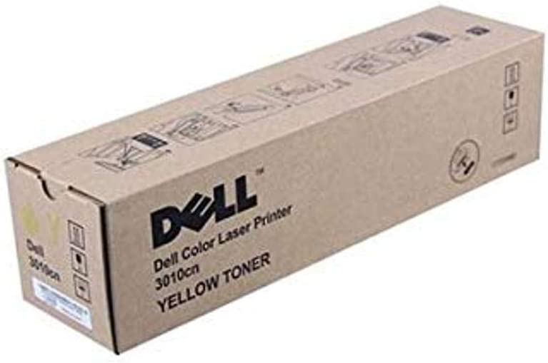 Dell WH006 Yellow Toner Cartridge for Dell 3010cn Color Laser Printer