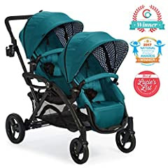 The Contours Options Elite is the perfect balance of form, flexibility, and function. In addition to boasting a super-stylish fashion in the season's hottest colors, our award-winning double stroller has been upgraded based on feedback from t...