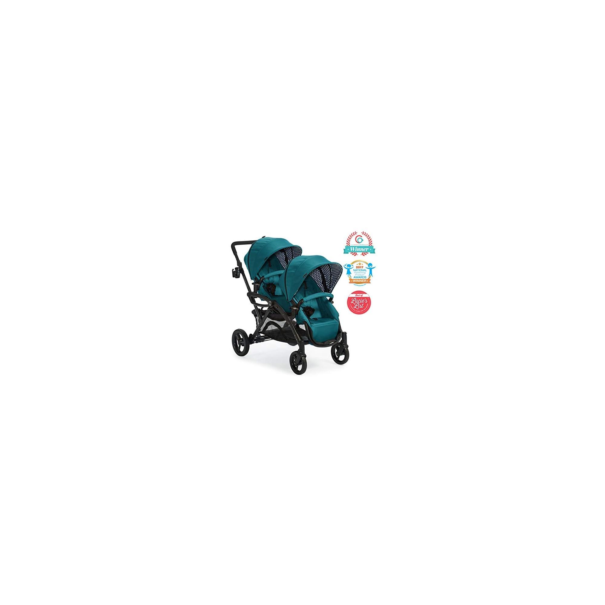 Contours Options Elite Sit & Boogie Jump Seat & Platform Attachment Accessory, Black