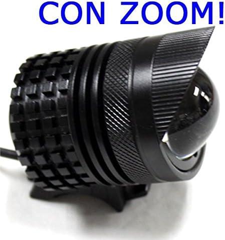 ECOLUCE Linterna Bici Zoom LED XML-T6 1800 Lumen, Envio Desde ...