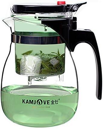 KAMJOVE TP-160 Glass Gongfu Teapot 500ml With Infuser Mug