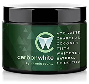 carbonwhite activated charcoal teeth whitening natural beauty. Black Bedroom Furniture Sets. Home Design Ideas