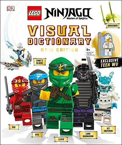Lego Ninjago Visual Dictionary, New Edition: With Exclusive Teen Wu Minifigure [With Toy] por Arie Kaplan