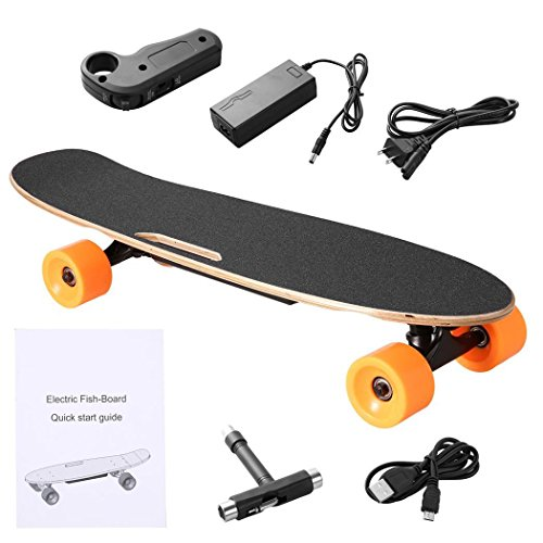 Cosway Mini Electric Skateboard Kit with Remote Controller