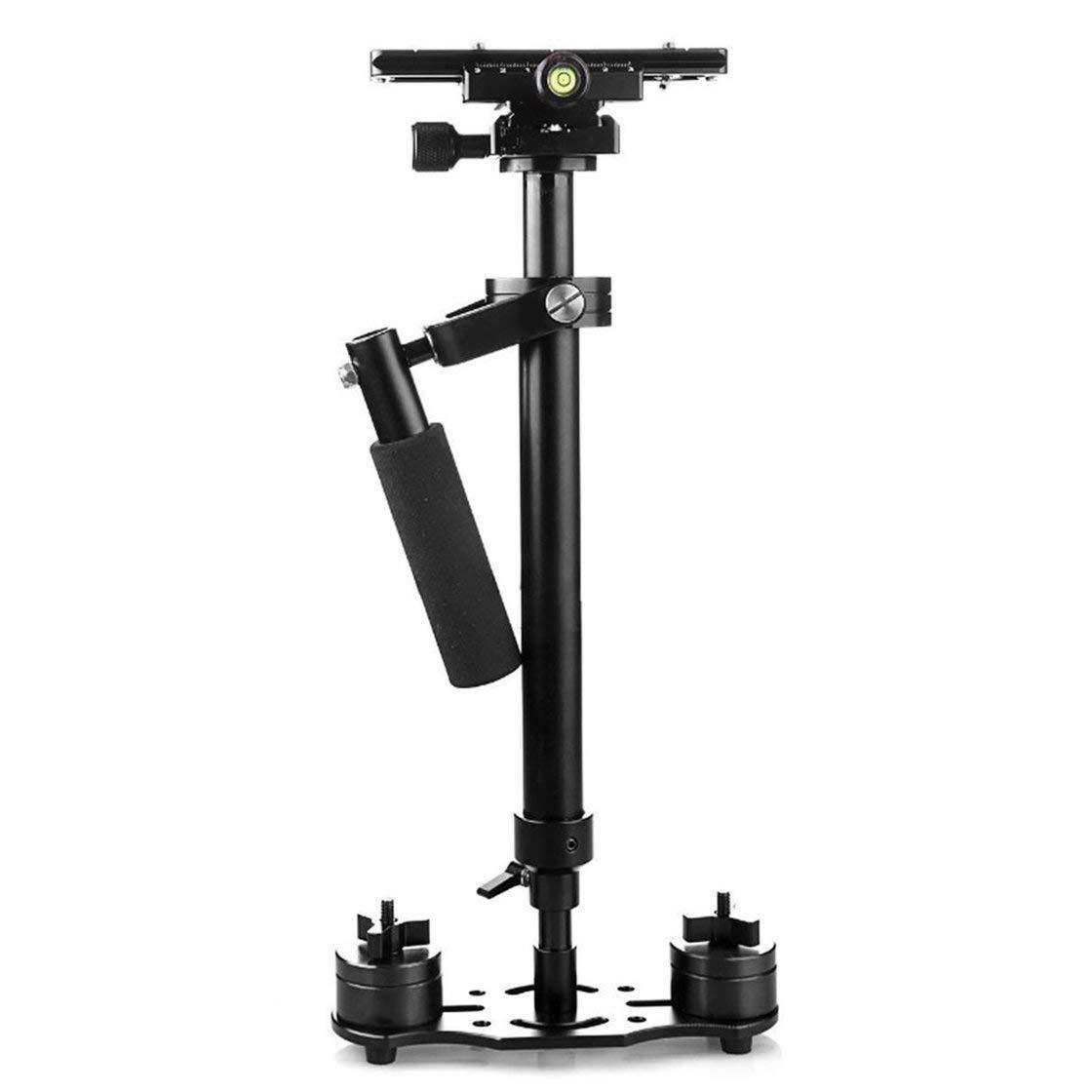 Hermosairis Handstabilisator Aluminiumlegierung einziehbar für DSLR Kamera DV Camcorder