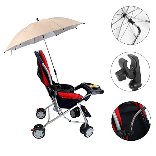 Lime FYLO Universal Baby Parasol Umbrella Sun Canopy Shade Maker for Pushachair Pram Buggy