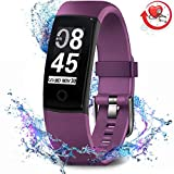 MorePro Fitness Tracker Waterproof Activity Tracker with Heart Rate Blood Pressure Monitor