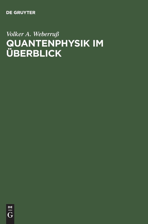 Quantenphysik im Überblick: Ein Buch zum schnellen Einstieg in die verschiedenen Arbeitsmethoden der Quantenphysik. Mit MATLAB-Programmplots