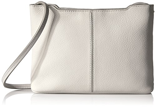 4 Small White Body Grey 26 x x Handbag cm ECCO 17 Women's Wxhxd Jilin Cross Crossbody aqwxw0E6S