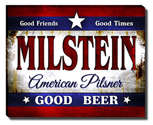 ZuWEE Milstein's American Pilsner Gallery Wrapped Canvas (Milstein Print)