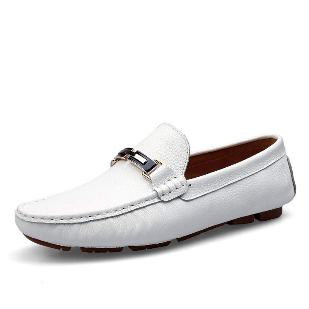 Sam Carle Mens Loafers Shoes Breathable Comfortable Slip-On Round Toe Fashion Casual Shoes