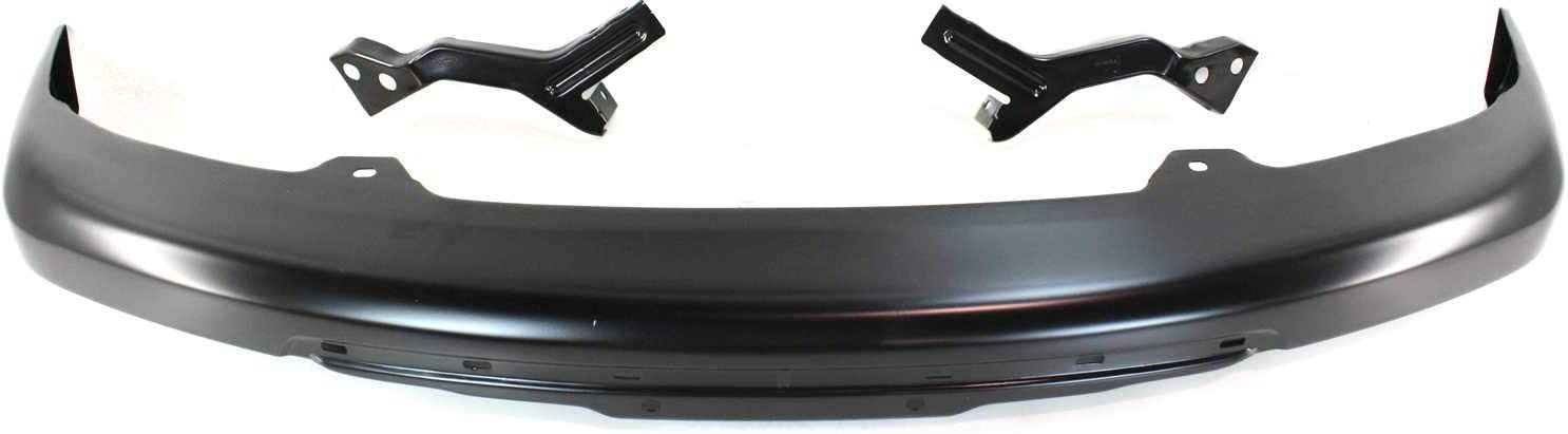 Steel s Front Bumper For 2006 Isuzu i-280 w// Bracket Painted Black