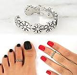 Celebrity Women Fashion Simple Toe Ring Adjustable Foot Beach Jewelry