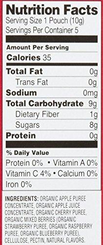 Plum Organics Tots Teensy Fruits-Berry-1.75 Ounces-8 Pack