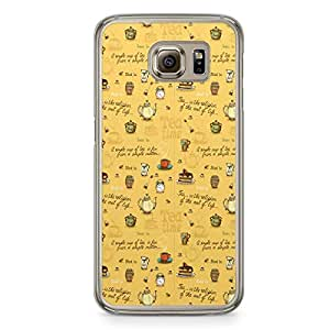 Tea Time Samsung Galaxy S6 Transparent Edge Case - Design 2
