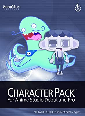 Anime Studio 9 Character Pack Vol 1 [Download]