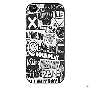 New Band Collage Custom Case for Iphone 5 Case