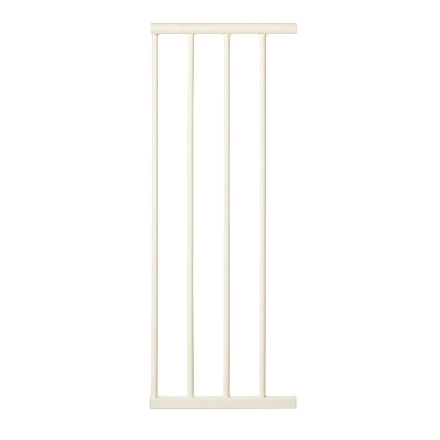 """Toddleroo by North States 4 Bar Extension for the Arched Auto Close with Easy Step Baby Gate: Adjust your gate to fit your space. Add up to 3 extensions. No tools required (Adds 10.75"""" width, White)"""