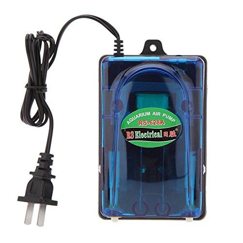 Aquarium Air Pump 5W 220V Ultra Silent High Output Energy Efficient Fish Tank Oxygen Airpump aquario acuario Accessories ()