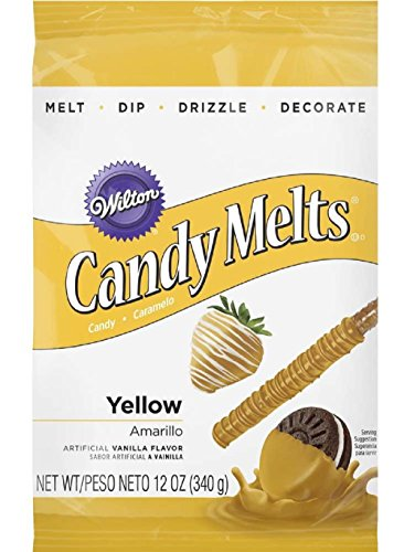 Wilton Yellow Candy Melts Candy, 12 -