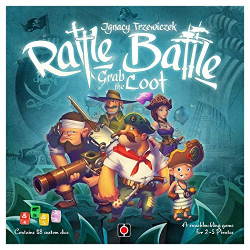 - Portal Games Rattle, Battle, Grab The Loot