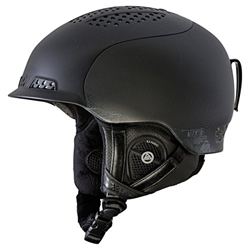 K2 Diversion Ski Helmet, Black, Small by K2