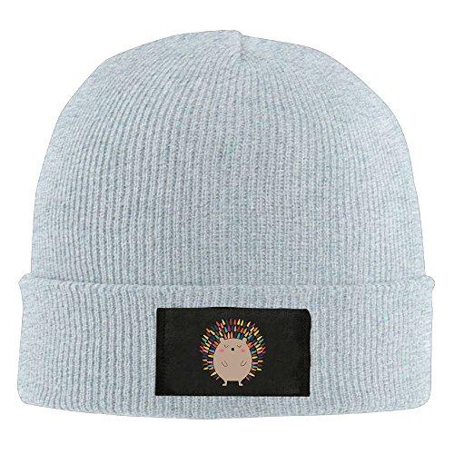 WLF Unisex Hedgehog Cartoon Cute Fashion Warmth Four Colors Beanie Hats Skull Cap