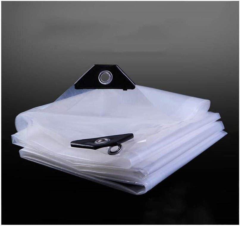 UK Transparent Waterproof Tarpaulin Plant Room Cover Sheet Heavy ...