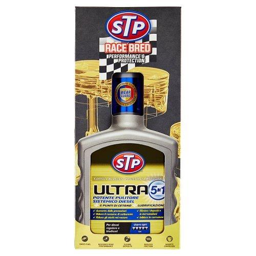 Stp, Trattamento Ultra 5 in 1 Diesel, Massimizza l' Efficienza e le Prestazioni del Motore, con Formula Antiusura, Aumenta il Numero di Cetano, 400 ml Massimizza l' Efficienza e le Prestazioni del Motore tavola 120533