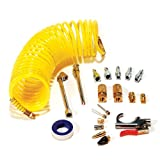 Primefit Pri-6044 IK1016S-20 Deluxe Air Compressor Accessory Kit Including Recoil Airhose