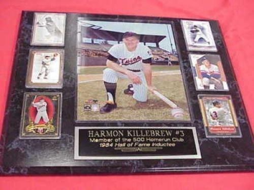 Twins Harmon Killebrew 6 Card Collector Plaque w/8x10 Photo