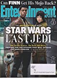 Entertainment Weekly December 1, 2017 Stars Wars The Last Jedi John Boyega & Kelly Marie Tran Cover 2