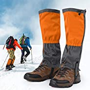 1 Pair Snow Boot Leggings Waterproof Gaiters Winter Outdoor Sports Shoes Cover for Climbing Hiking Riding